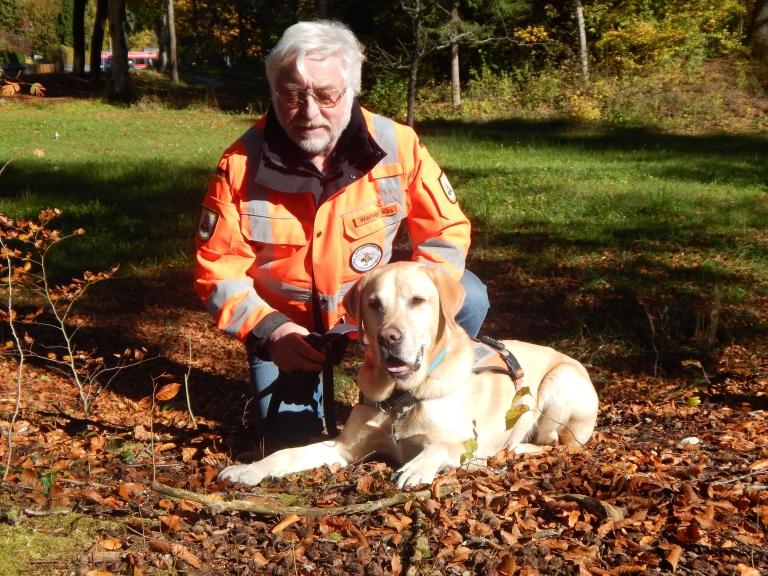 Werner mit Buddy